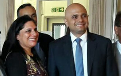 Meeting – Sajid Javid Secretary of State for Communities and Local Government