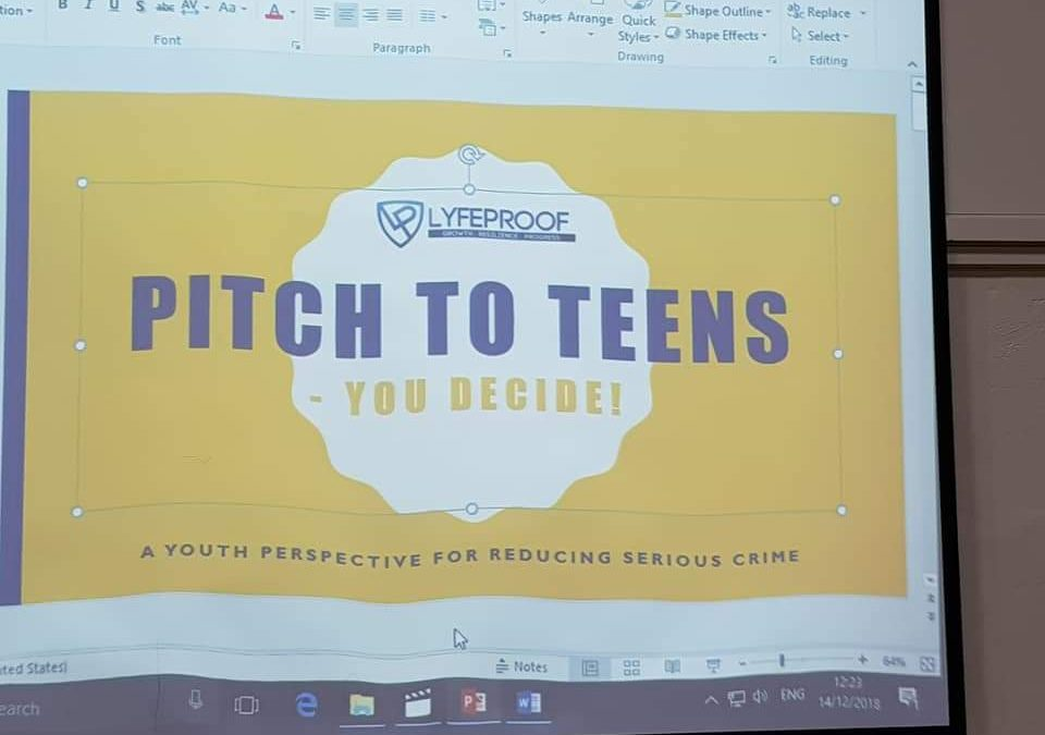 Aston Manor Academy Pitch to Teens
