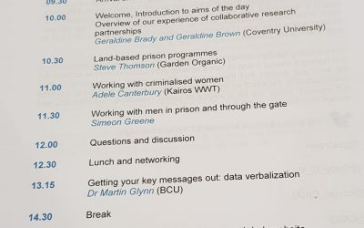 Research on Working with Criminalised Men and Women