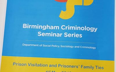 University of Birmingham Criminology Seminar Series