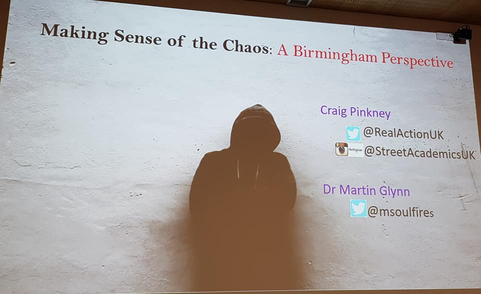 Making Sense of the Chaos: A Birmingham Perspective
