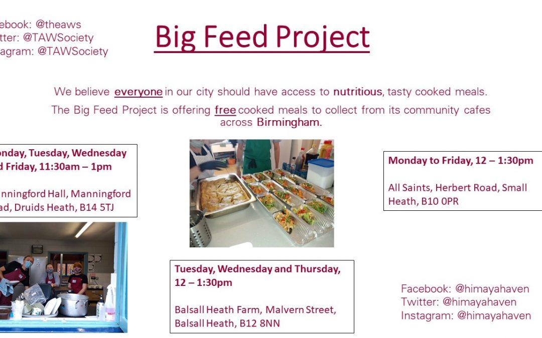 Big Feed Project Birmingham Free Food