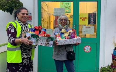 Donations from Highfield Hall Community Centre